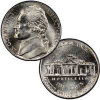 2002 Jefferson Nickel