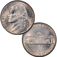 2003 Jefferson Nickel