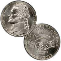 2004 Jefferson Nickel Peace Medal