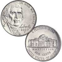 2007 Jefferson Nickel