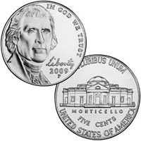 2009 Jefferson Nickel