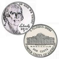 2013 Jefferson Nickel