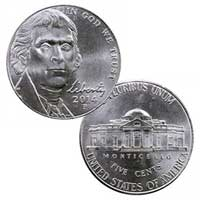 2014 Jefferson Nickel