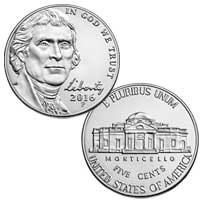 2016 Jefferson Nickel