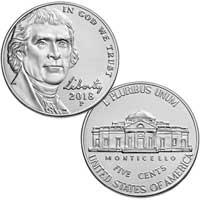 2018 Jefferson Nickel
