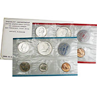 1964 United States Mint Uncirculated Coin Set