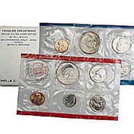 1971 United States Mint Uncirculated Coin Set