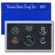 1972 United States Mint Proof Set