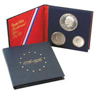 1976-S United States 3 Piece Silver Proof Set