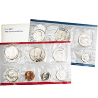 1980 United States Mint Uncirculated Coin Set