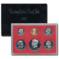1981 United States Mint Proof Set