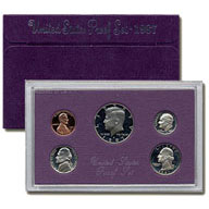 1987 United States Mint Proof Set