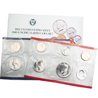 1989 United States Mint Uncirculated Coin Set
