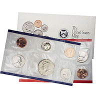 1992 United States Mint Uncirculated Coin Set