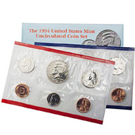 1994 United States Mint Uncirculated Coin Set
