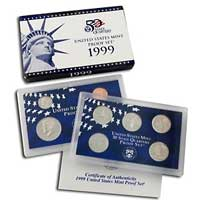 1999 United States Mint Proof Set (P99)