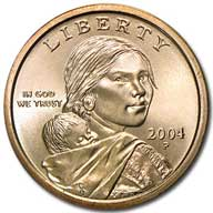 2004 Sacagawea Dollar