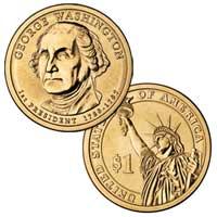 George Washington Presidential Dollar 2007