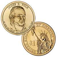 James K. Polk Presidential Dollar 2009