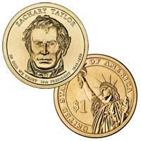 Zachary Taylor Presidential Dollar 2009