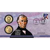 2009 Zachary Taylor $1 Coin Cover (P32)