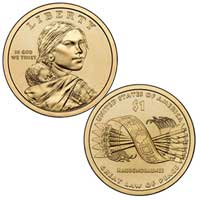 Native American $1 Coin 2010