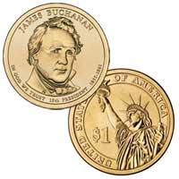 James Buchanan Presidential Dollar 2010