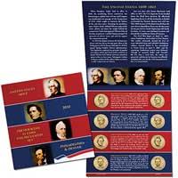 2010 Presidential $1 Coin Uncirculated Set (XE4)