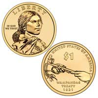 Native American $1 Coin 2011