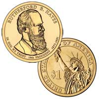 Rutherford B. Hayes Presidential Dollar 2011