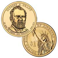 Ulysses S. Grant Presidential Dollar 2011