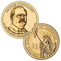 Grover Cleveland (First Term) Presidential Dollar 2012