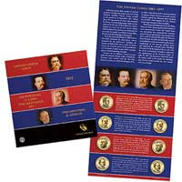 2012 United States Mint Presidential $1 Coin Uncirculated Set (XE6)