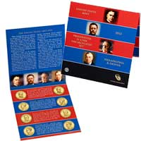 2013 United States Mint Presidential $1 Coin Uncirculated Set (XE7)