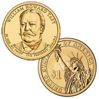 William Howard Taft Presidential Dollar 2013