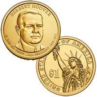 Herbert Hoover Presidential Dollar 2014