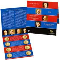 2014 Presidential $1 Coin Uncirculated Set (XE8)