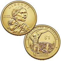 Native American $1 Coin 2015