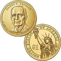 Harry S. Truman Presidential Dollar 2015