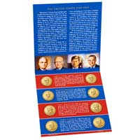 2015 Presidential $1 Coin Uncirculated Set (XE9)