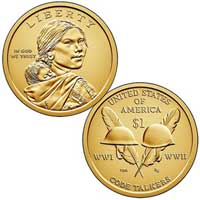 Native American $1 Coin 2016