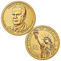 Gerald R. Ford Presidential Dollar 2016