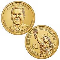 Ronald Regan Presidential Dollar 2016