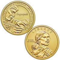 Native American $1 Coin 2017
