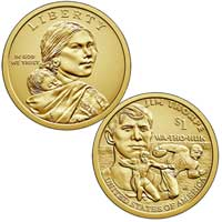 Native American $1 Coin 2018