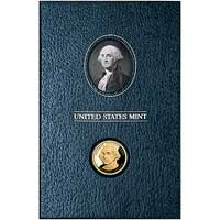 2007 United States Mint Presidential $1 Coin Historical Signature Set - George Washington (XJ1)