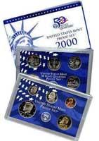2000 United States Mint Proof Set (P00)