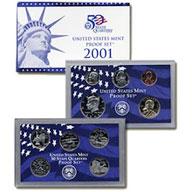 2001 United States Mint Proof Set (P01)