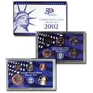 2002 United States Mint Proof Set (P02)
