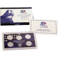2002 United States Mint 50 State Quarters Proof Set (Q02)